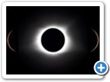 Photo montage by Jayce and Jess Dowell of the total eclipse in Fort Laramie, Wyoming.