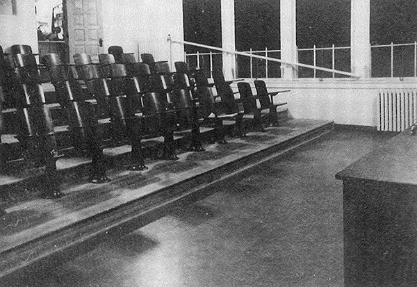 Science and Lecture Hall, interior