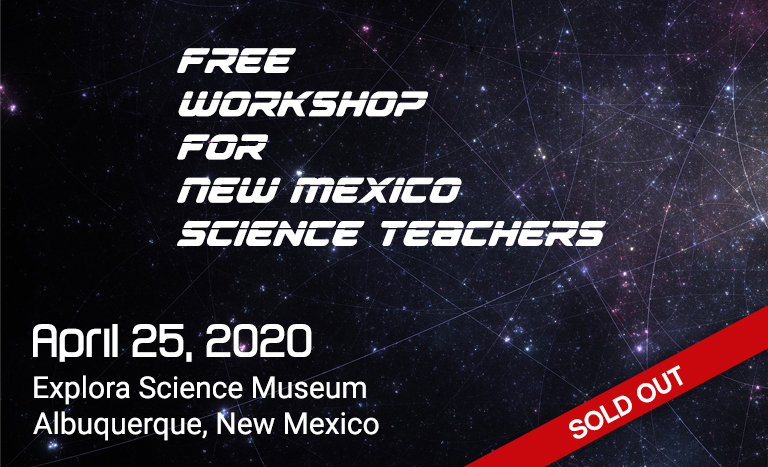 Free workshop for NM Science Teachers on April 25